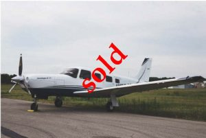Sold 2006 Piper Turbo Saratoga SN 3257437 01.23.17